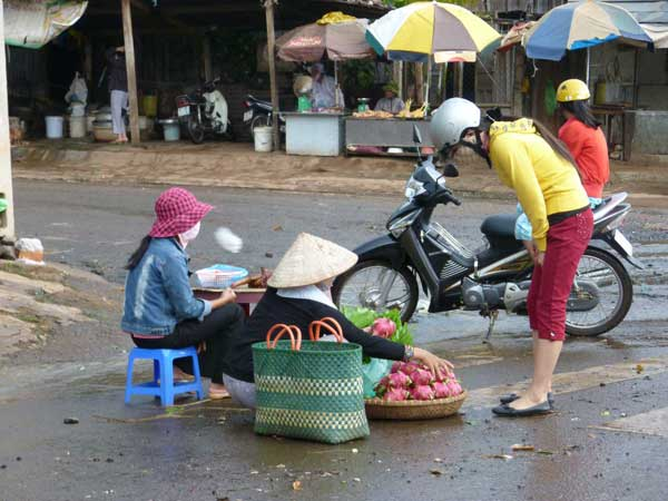 A Fruit Seller in Buon Ma Thuot